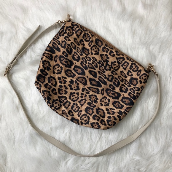 8ee15294fea3 Urban Originals Bags | Satin Cheetah Print Bag | Poshmark